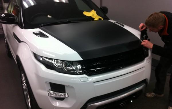 Range Rover Evoque Carbon Wrap