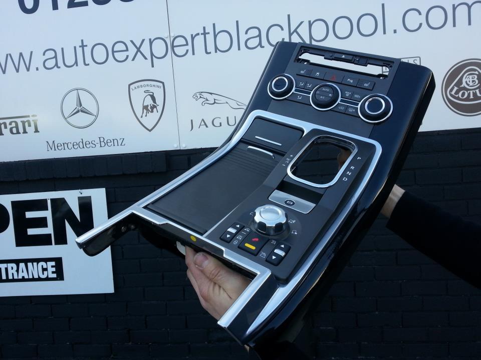 Rover Vogue 02-09 - HAWKE Steering Wheel (Piano Black)