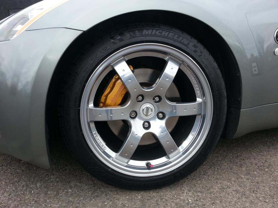 Nissan Z Touring Tire Size