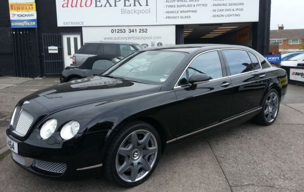 Bentley Continental Flying Spur Mulliner Privacy Glass