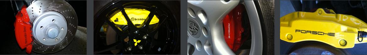 Car Brake Caliper Painting & Refurbishment