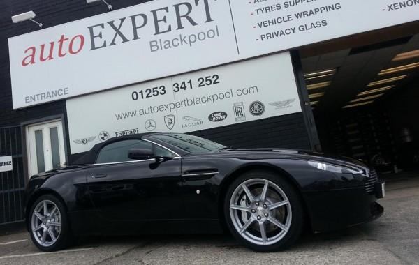 Aston Martin Vantage Wheel Repairs