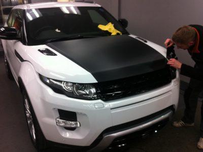 Range Rover Evoque Carbon Wra