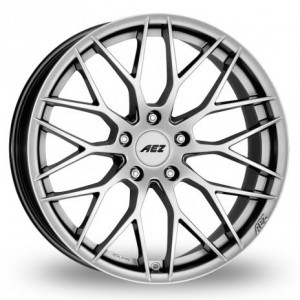 AEZ Antigua Silver Alloy Wheels