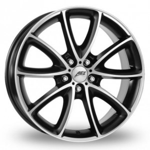 AEZ Excite Black Alloy Wheels