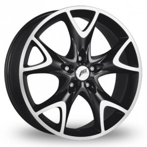 AEZ Phoenix Black Alloy Wheels