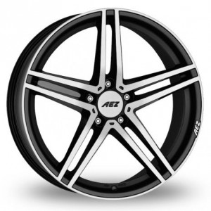 AEZ Portofino Black Alloy Wheels