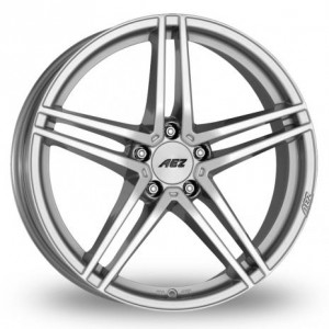 AEZ Portofino Silver Alloy Wheels