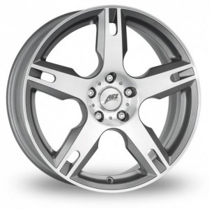AEZ Tacana Silver Alloy Wheels