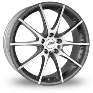 AEZ Tidore Silver Alloy Wheels