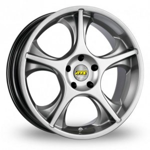 ATS Cetus 5 Spoke Silver Alloy Wheels