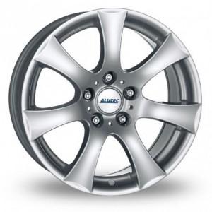 Alutec V 7 Spoke Silver Alloy Wheels