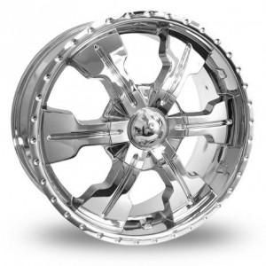 Axe 607 Six Spoke silver Alloys