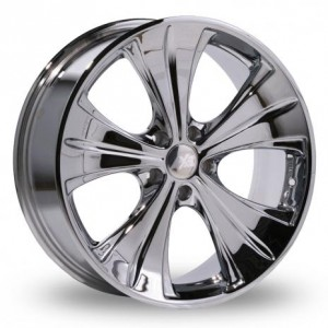 Axe AP31 Mirror Silver Alloy Wheels