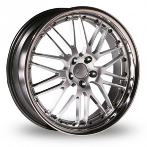 Axe AP40 Silver Alloy Wheels