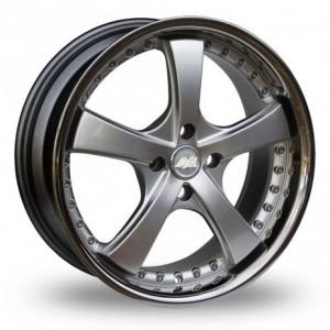 Axe AP41 Matt Silver Alloy Wheels