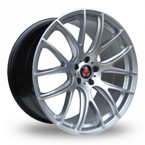Axe Lite Hyper Silver Alloy Wheels