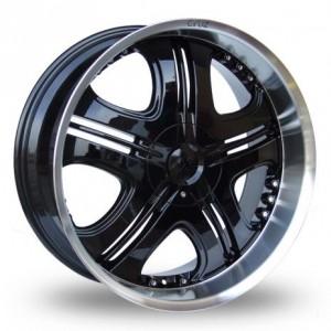 Axe Cruz Black Alloy Wheels