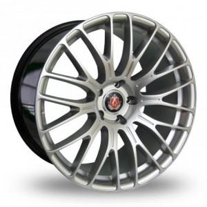 Axe Hyper Silver Alloy Wheels