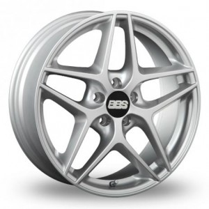 BBS CF Silver Alloy Wheels