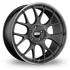 BBS CH-R Anthracite Black Alloy Wheels