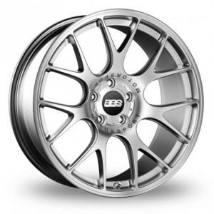 BBS CH-R Silver Alloy Wheels