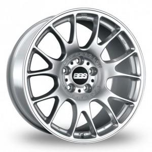 BBS CH Silver Alloy Wheels