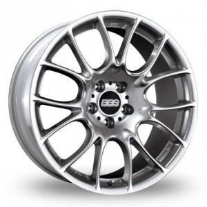 BBS CK Silver Alloy Wheels