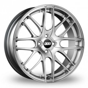 BBS CS-4 Silver Alloy Wheels