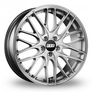 BBS CS-5 Silver Alloy Wheels