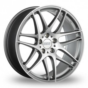 BBS CX-R AP Silver Alloy Wheels