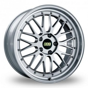 BBS LM Forged Split Rim Mirror Silver Alloy Wheels