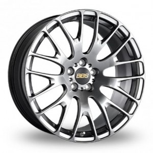 BBS RN Silver & Black Alloy Wheels