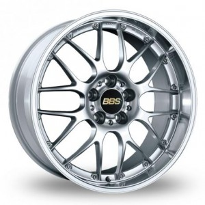 BBS RS- GT Forged Split Rim Silver Alloy Wheels