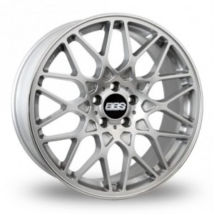 BBS RX-R Silver Alloy Wheels
