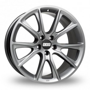 BBS SV Anthracite Silver Alloy Wheels