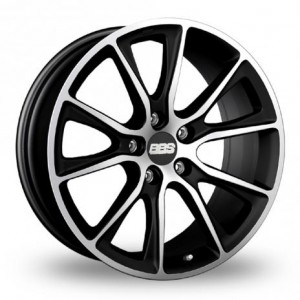 BBS SV Satin Black Alloy Wheels