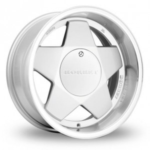 Borbet A Silver Alloy Wheels
