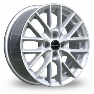 Borbet BS4 Silver Alloy Wheels