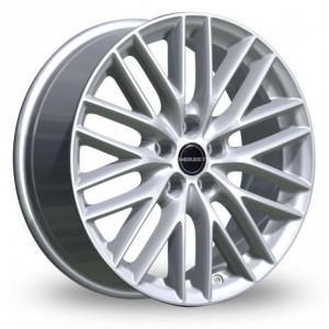 Borbet BS5 Silver Alloy Wheels