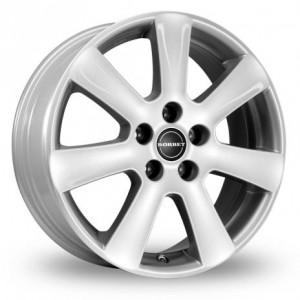 Borbet CA Silver & Black Alloys