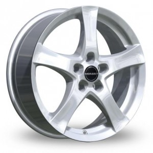 Borbet F Silver Alloy Wheels