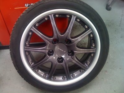 Porsche Carrera Alloy Wheels Lancashire