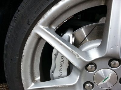 Aston Martin Wheel Repairs Blackpool