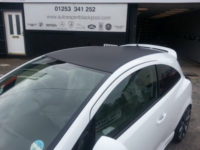 Vauxhall Carbon Wrapping