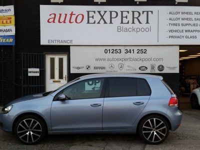 VW GOLF WINDOW TINT