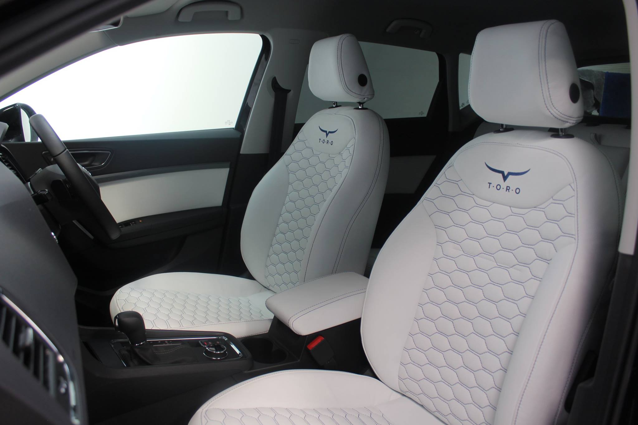 Leather Interior Customisation in Lancashire